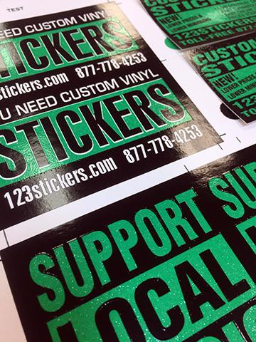 Custom Stickers | Custom Vinyl Stickers | 123stickers com