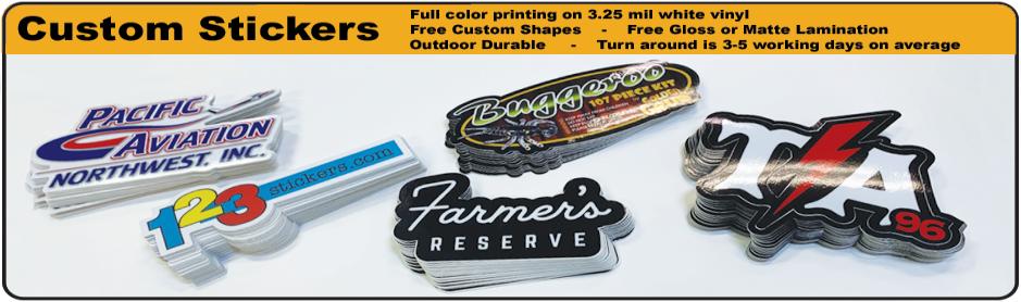 photo regarding Printable Vinyl Stickers named Generate Custom made Stickers Custom made Vinyl Stickers